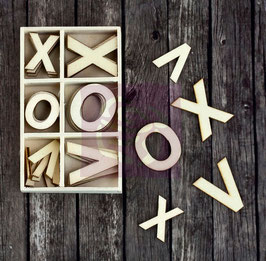 Prima Wood Icons In A Box: Xoxo