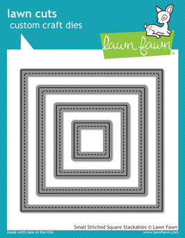 Lawn Fawn: Lawn Cuts Small Stitched Square Stackables