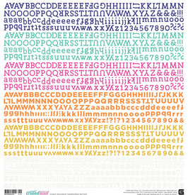 BasicGrey Grand Bazaar Alphabet Stickers