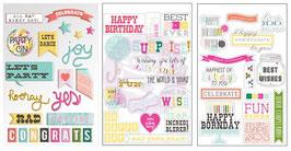 Instascrap Stickers : Birthday