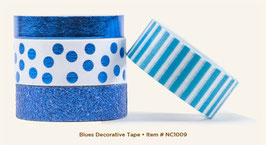 MME Necessities Blues Decorative Tape