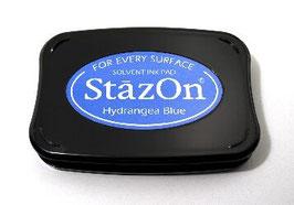 StazOn Ink Pad: Hydrangea Blue