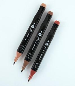 Prima Palette Marker Set: Brunette
