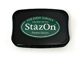 StazOn Ink Pad: Forest Green