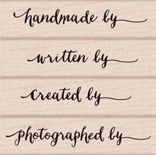 Hero Arts Woodblock Stamp Set: Created by