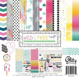 Glitz Design Wild & Free Collection Pack