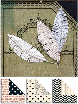 Jenni Bowlin Feathers - Cardstock