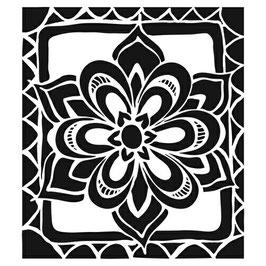 Joanne Fink Zenspirations 6x6: TCW466s Zen Flower