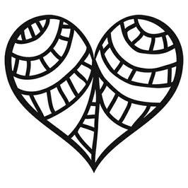 Balzer Bits: TCW2035 Pattern Heart