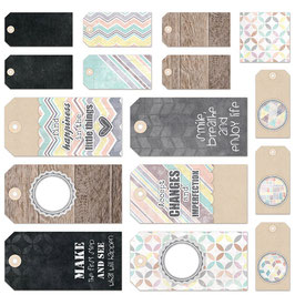 7 Dots Studio Illumination 12x12 Tags