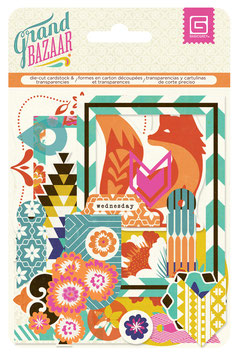 BasicGrey Grand Bazaar Die Cuts & Transparencies