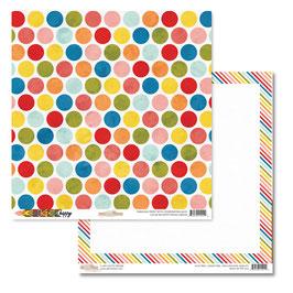Glitz Design: Color Me Happy Polka