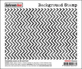 Darkroom Door Background - Chevron