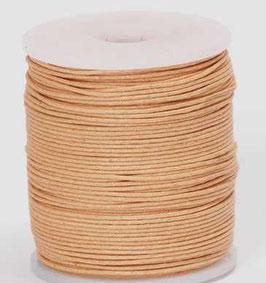 Natural waxed cord