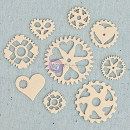 Ingvild Bolme Junkyard Findings: Heart Gears