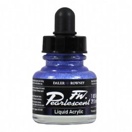 DR Pearlescent Acrylic Ink - Dutch Blue