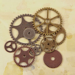 Ingvild Bolme Junkyard Findings: Clock Gears