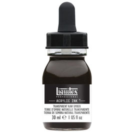 Liquitex Acrylic Ink - Transparent Raw Umber