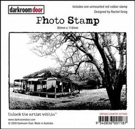 Darkroom Door Photo Stamp - Country Cottage
