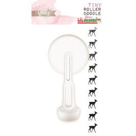Glitz Design Hello December Tiny Roller Doodle: Deer