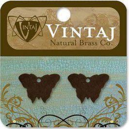 Vintaj Natural Brass Altered Blanks - Bitsy Butterfly