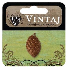 Vintaj Artisan Copper Pine Cone