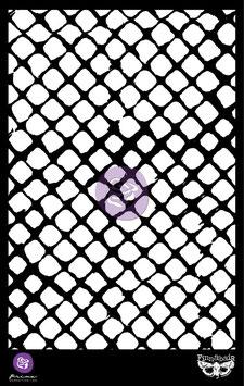 Finnabair Stencil : 6x9 Netting