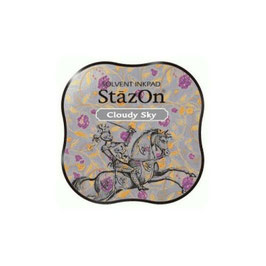 StazOn Midi Ink Pad: Cloudy Sky