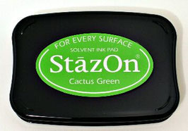 StazOn Ink Pad: Cactus Green