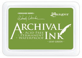 Wendy Vecchi Archival Ink: Leaf Green ReInker