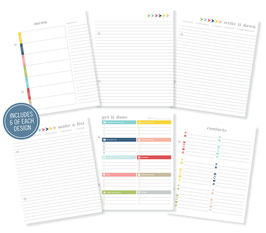 Simple Stories Life Documented Basic Planner Inserts
