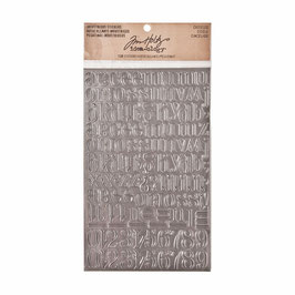 Tim Holtz Idea-ology Industrious Stickers - Chiseled