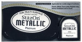 StazOn Metallic: Platinum