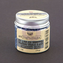 Finnabair Art Ingredients Glass Glitter - Midnight Blue