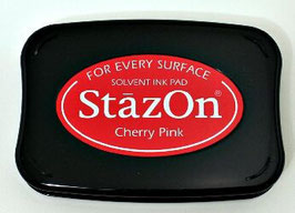 StazOn Ink Pad: Cherry Pink