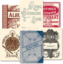 Jenni Bowlin Vintage Deck - Book Covers