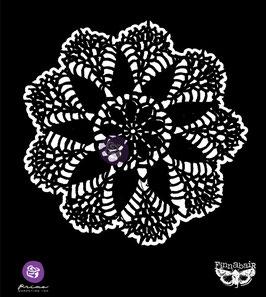 Finnabair 6x6 Stencil : Lace Doily '#3