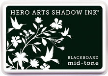 Hero Arts Blackboard Mid Tone Shadow Ink Pad