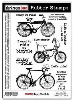 Darkroom Door Stamp Set: Enjoy The Ride