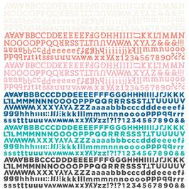 BasicGrey Spice Market Alphabet Stickers