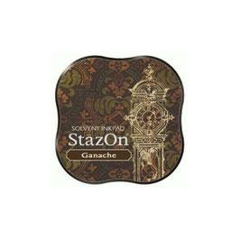 StazOn Midi Ink Pad: Ganache