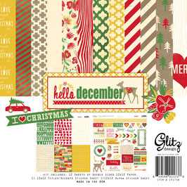 Glitz Design Hello December Collection Pack