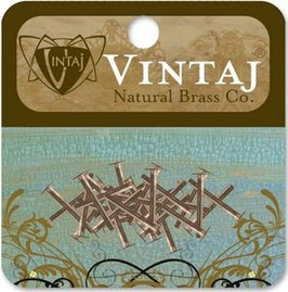 "Vintaj Natural Brass 1/2"" Rivets"