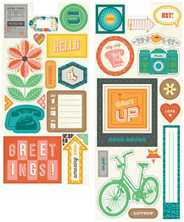 BasicGrey Capture Printed Chipboard Shapes