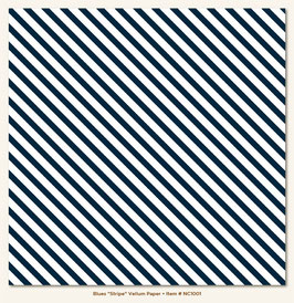 MME Necessities Blues Stripe Vellum Paper