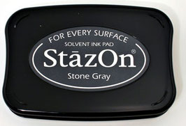 StazOn Ink Pad: Stone Grey