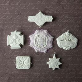 Archival Cast: Medaillions