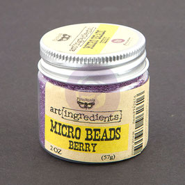 Art Ingredients Micro Beads  - Berry