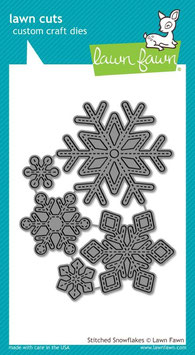 Lawn Fawn: Lawn Cuts Stitched Snowflakes