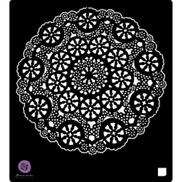 Prima 6x6 Stencil: Doily #2